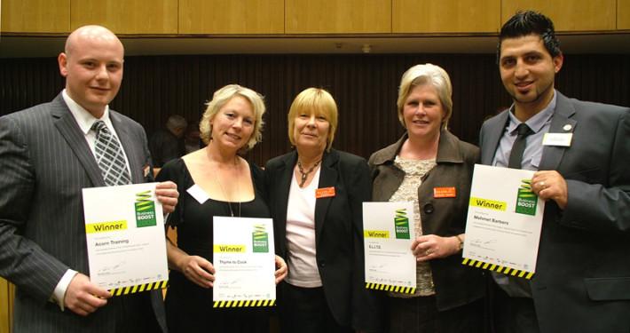 2009 Business Boost Winners