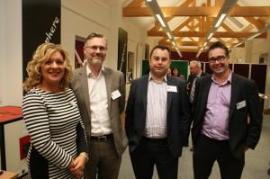 Sarah Da Silva, David Roberts and Steve Gallet - Rory Mack, Paul Franklin - HSBC