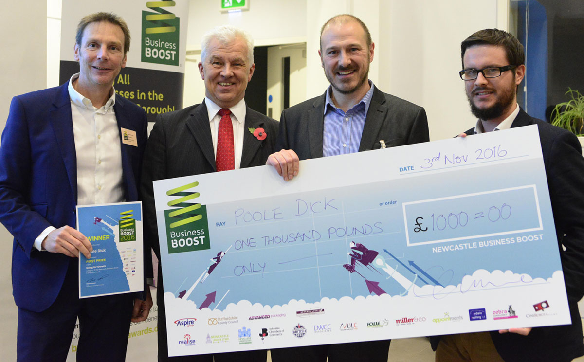 Business Boost 2016 at Newcastle under Lyme School